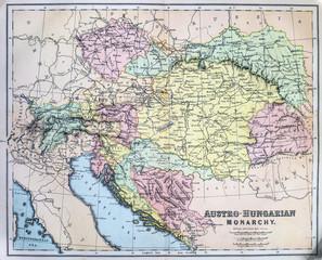 Map of Austro-Hungarian Empire