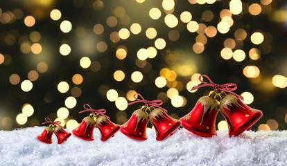 Weihnachtkarte Glocken