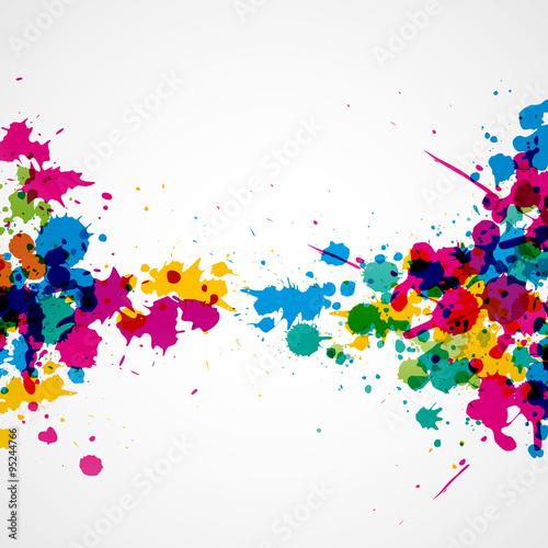 Peinture art graphique fichier vectoriel libre de droits for Peinture graphique