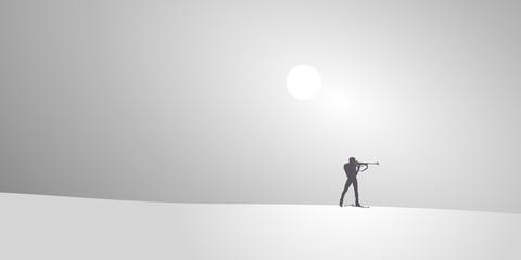 biathlon-Neige