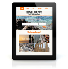 tablet pc travel agency online