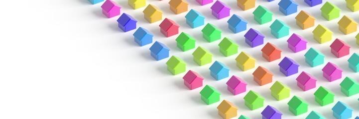 Real estate conceptual 3d image