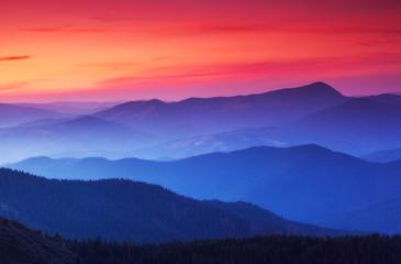 壁紙(ウォールミューラル) - beautiful mountains landscape