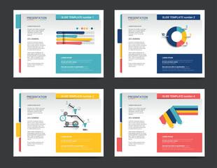 Presentation business templates. Infographics for leaflet, poster, slide, magazine, book, brochure, website, print.