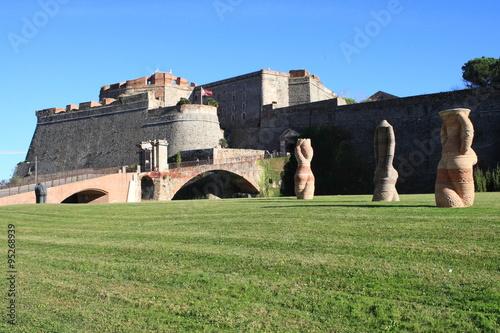 Savona Fortezza Priamar costruita dai genovesi nel 1542