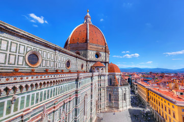 Photo sur Plexiglas Florence Florence, Italy. Cathedral of Saint Mary of the Flowers
