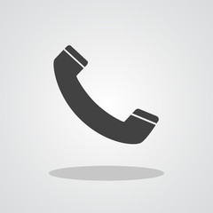 Phone icon flat design