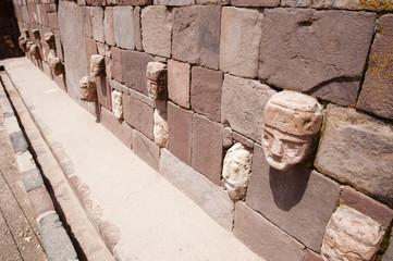 Tenon Heads - Tiwanaku - Bolivia