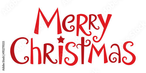 Merry Christmas Fonts Images.Merry Christmas In Festive Handdrawn Vector Font Stock