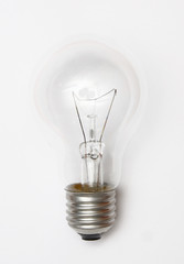 bulb isolated on white background