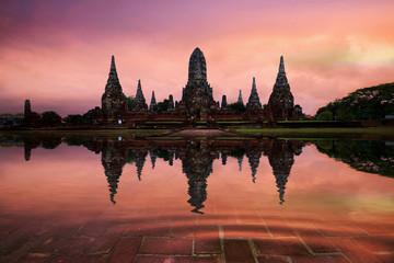 Temple ayutthaya, Thailand.