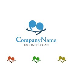 dating logo icon vector