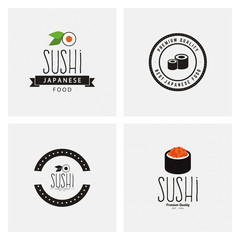 Sweet Sushi Labels