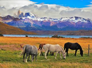 Impressive landscape in Chile