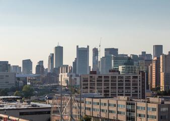 Skyline of Boston from Harbor ARea