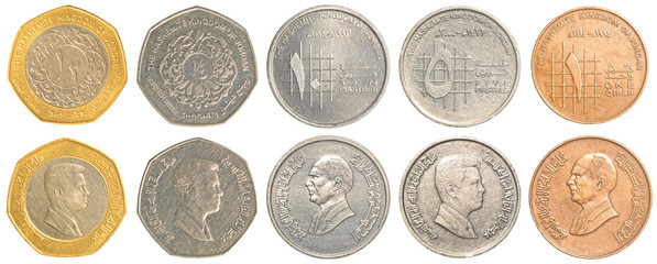 jordanian dinar coins collection