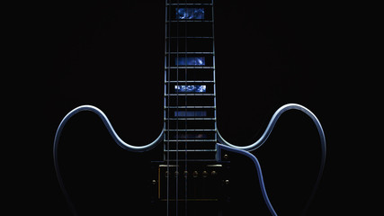 Electric Guitar Abstract Fotomurales