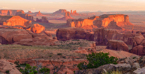Fototapete - Hunts Mesa viewpoint