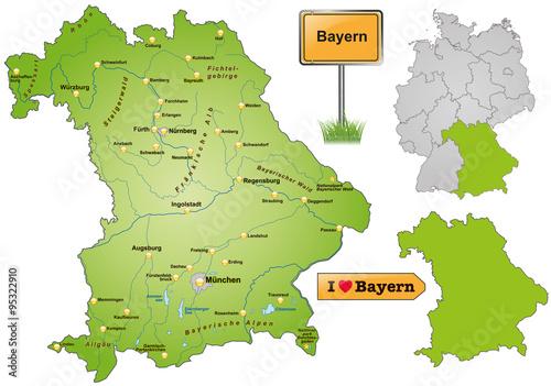 Karte Bayern.Karte Von Bayern Stockfotos Und Lizenzfreie Vektoren Auf Fotolia