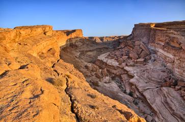 Tamerza canyon, Star Wars, Sahara desert, Tunisia, Africa