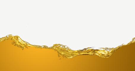 The liquid oil pattern.