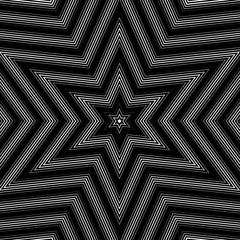 Illusive background with black chaotic lines, moire style. Contr