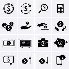 Dollar Finance and Money Icons