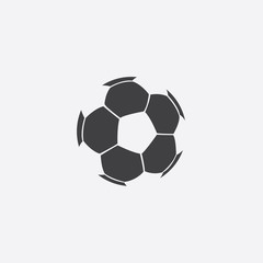 ball cutted identity template icon