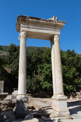 Hadrians Gate Ephesus Ancient City