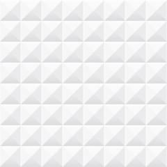 White geometric texture. Seamless 3d pattern.