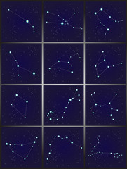 12 Constellations set