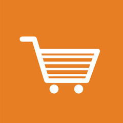 Shopping cart icon. Online shopping icon.