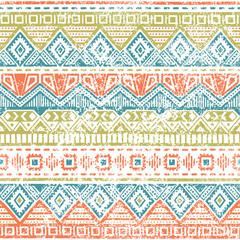 Seamless ethnic background. Vintage vector illustration.