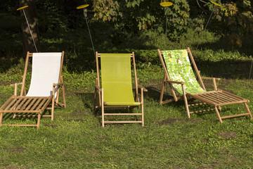 Liegestuhl Freizeit Urlaub