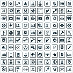 repair 100 icons universal set