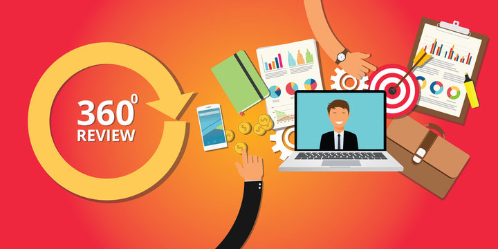 360 degree review for hrd human resource development company worker employee
