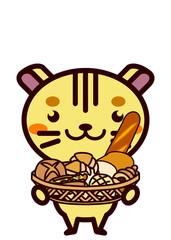 パンと動物シリーズ