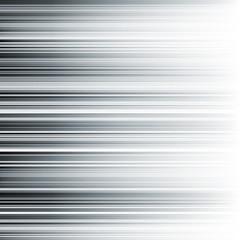Abstract horizontal monochrome stripes gradient background