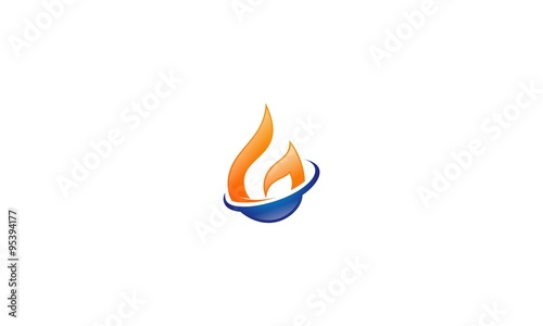 Water And Fire Logos G