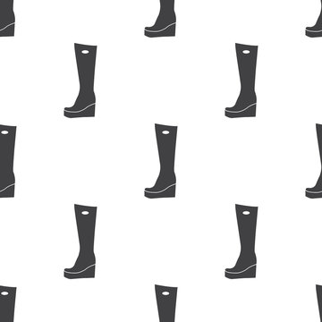 Vector illustration of boots icon
