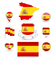 Spain Flag Collection