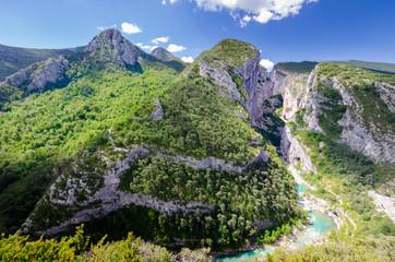 view of the Gorges du Verdon
