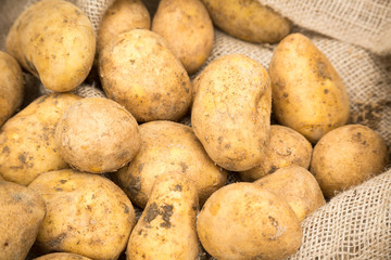 Potatoes in Sack
