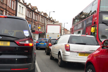 Heavy London Traffic