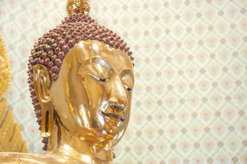 Closeup of the Wat Traimit Golden Buddha, Bangkok