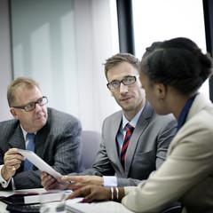 Business Team Corporate Organization Meeting Concept