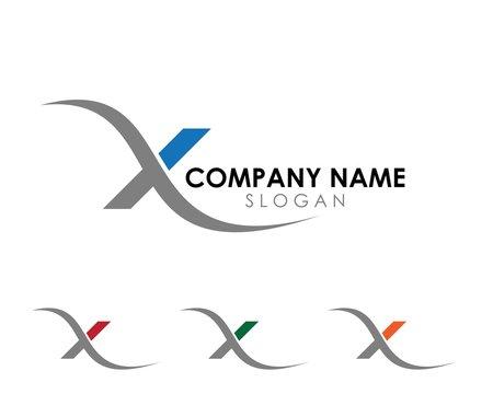 x swoosh logo 4