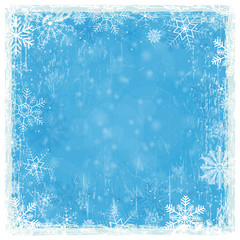 blue grunge christmas background