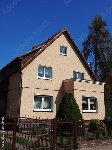 Stadtvillen Altbauten Suddeutschland Stock Photo And