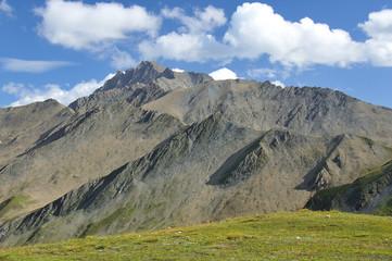 Grand Ferret Pass between Switzerland and Italy